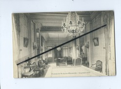 CPA  - Château De St Aubin D'Ecrosville  - Le Grand Salon - Saint-Aubin-d'Ecrosville