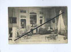 CPA  Rétrécit  -  Saint Aubin D'Ecrosville  (Eure) - Le Grand Salon Du Château - Saint-Aubin-d'Ecrosville