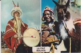 Amérique:  Bolivie :  LA  PAZ  , Lama - Bolivia