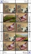 SALE!!! NAGORNO KARABAJ KARABAKH BERGKARABACH 2014 EUROPA CEPT MUSIC INSTRUMENTS - Sheetlet Of 8 Stamps + 2 Vignettes ** - 2014