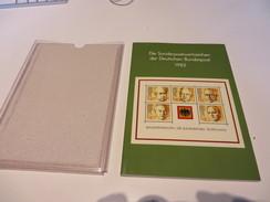DIE  SONDERPOSTWERTZEICHEN  DER  DEUTSCHEN  BUNDESPOST  1982 - Colecciones (en álbumes)