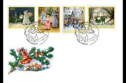 Liechtenstein 2016 First Day Cover - Christmas 2016 - Nostalgic Christmas Cards - Liechtenstein