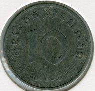 Allemagne Germany 10 Reichspfennig 1941 F J 371 KM 101
