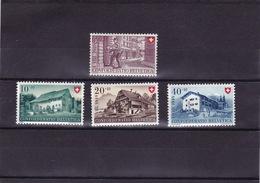 Schweiz 1949, MiNr. 525-528 Pro Patria Postfrisch (i017) - Nuovi
