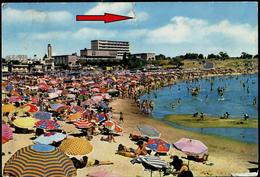 UJ-01 MONTEVIDEO Sandstrand Und Menschen-sandy Beach And People 1968 - Uruguay