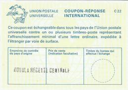 Cameroun Cameroon Douala Recette Centrale Reply Coupon Reponse Type C22 IRC IAS - Kameroen (1960-...)