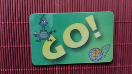 Prepaidcard Global One  Green Belgium 500 BEF Used Rare - [2] Prepaid & Refill Cards
