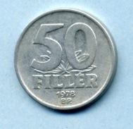 1978 50 FILLER - Hungary