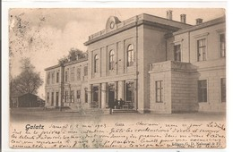 ROUMANIE - GALATZ -  GALATI - Gara - 1903 - Roumanie
