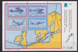 Finland 1987 Finlandia 1988 / Airplanes M/s ** Mnh (34633)
