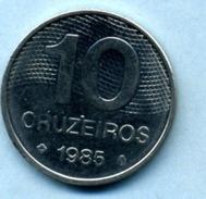 1985 10 CRUZEIROS - Brésil