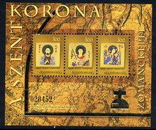 HUNGARY 2007 Enamels From Hungarian Crown Block MNH / **.  Michel Block 316 - Hungary
