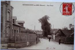 BETHENCOURT-SUR-MER. Rue D'Ault - France