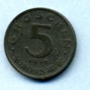1951 5 GROCHEN - Autriche