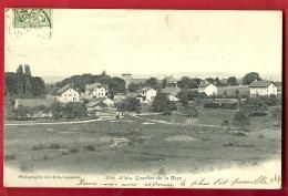 PRK-07 L'Isle, Quartier De La Gare, . Cachet Frontal 1905. Des Arts 3028 - VD Waadt