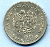 1974 20 ZLOTI - Pologne