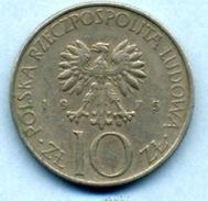 1975 10 ZLOTI - Pologne