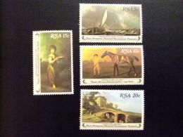 AFRIQUE DU SUD SOUTH AFRICA AFRICA Del SUR  RSA 1980  GALERIA NACIONAL PINTURAS Yvert Nº 480 / 83 ** MNH - África Del Sur (1961-...)