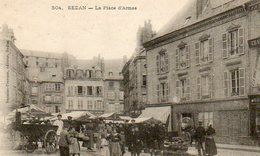 SEDAN 0802 La Place D'Armes - Sedan