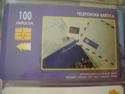 BOSNIA HERGEGOVINΑ USED PHONECARDS 2 SCAN - Bosnia