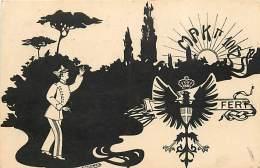COLLEGIO MILITARE DI ROMA.  MAK PI GRECO 100 - BELLA ILLUSTRAZIONE DI COLOMBO - VIAGGIATA 1918 - Guerra 1914-18