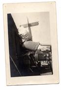 Carte Photo Aviation Potez 15 Accident Le  Bourget 1929  34 Régiment Aviation - Regiments