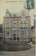 HALLENCOURT VILLA DE LA PAQUERETTE TRES BELLE CARTE POSTEE EN 1908 EDIT.TABAC MERCHEZ - France