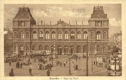 Bruxelles Gare Du Nord - Chemins De Fer, Gares