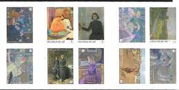 Belg. 2013 - COB N° 4323 à 4332 ** - Théo Van Rysselberghe (carnet 138) - Booklets 1953-....