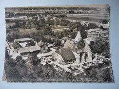 CPSM 10 AUBE - MAIZIERES LES BRIENNE VUE AÉRIENNE - Troyes