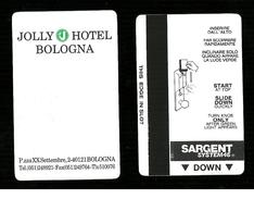 Chiave & Chiavi Elettroniche Hotel - Jolly Hotel ( Bologna ) - The Electronic Key Door - Chiavi Elettroniche Di Alberghi