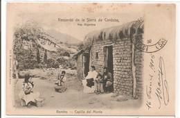 URUGUAY - Recuerdo De La Sierra De Cordoba - Rancho - Capilla Del Monte. - 1905 - Uruguay