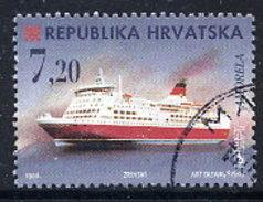 CROATIA 1998 Ships 7.20 K. Used.  Michel 480 - Croatia
