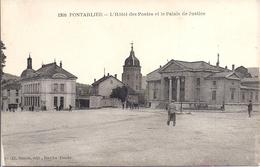 12423.....PONTARLIER,  Le Palais De Justice Et La Poste - Pontarlier