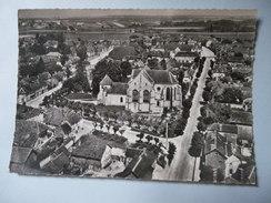 CPSM 10 AUBE - EN AVION AU DESSUS DE PINEY - Autres Communes