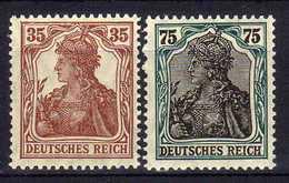 Deutsches Reich, 1918/1919, Mi 103 -104 ** [150116StkKV] - Allemagne