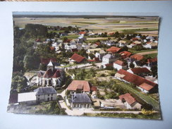 CPSM 10 AUBE - HERBISSE VUE AÉRIENNE - Mailly-le-Camp