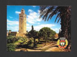 MARRAKECH - MAROC - MOSQUÉE LA KOUTOUBIA ET SES JARDINS - PAR JEFF - Marrakech