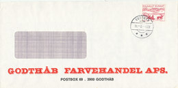 Greenland Cover Godthab 30-3-1982 - Unclassified