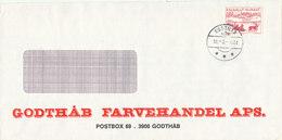 Greenland Cover Godthab 30-3-1982 - Groenland