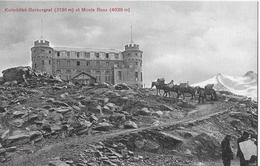 GORNERGRAT → Kulmhotel Gornergrat, Saumtiere Unterwegs, Ca.1910 - VS Valais