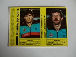 Football Futebol World Cup México 86 Nothern Ireland N. Whiteside G. Armstrong Portugal Portuguese Pocket Calendar 1986 - Calendriers