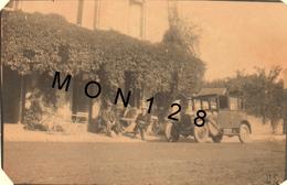LA FORET FOUESNANT (29 Finistere) HOTEL DE LA BAIE -   PHOTO 1930 - 8,5x5,5 Cms (automobile) - Plaatsen