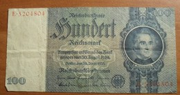 1935 - Allemagne - Germany - 100 REICHSMARK, IIIè Reich, Berlin Den 24 Juni 1935 - E.5204804 - [ 4] 1933-1945 : Troisième Reich