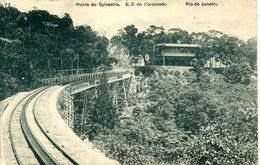 BRAZIL - RIO - PONTE DO SYLVESTRE, EF DO CORCOVADO 1917 - Rio De Janeiro