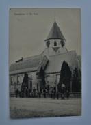 PK/CP Auweghem Ouwegem Eglise Kerk Anime - Zingem