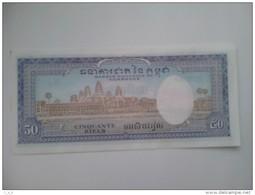 Billete Camboya. 50 R. 1956. Sin Circular. - Cambodia
