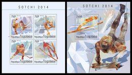 TOGO 2014 - Jumping, Sochi Olympics; CV = 31 €