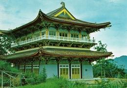 TAIWAN-HSUAN CHUANG TEMPLE AT SUN MOON LAKE - Taiwan