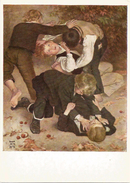 """GERMANY - ALLEMAGNE – DEUTSCHLAND Hans Thomas """"Fighting Boys """" - Paintings"""